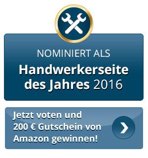 für www.Sattlermeisterin-Schwedt.de auf www.handwerkerseite-des-jahres.de abstimmen
