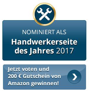 für www.schreinermeisterei.de auf www.handwerkerseite-des-jahres.de abstimmen