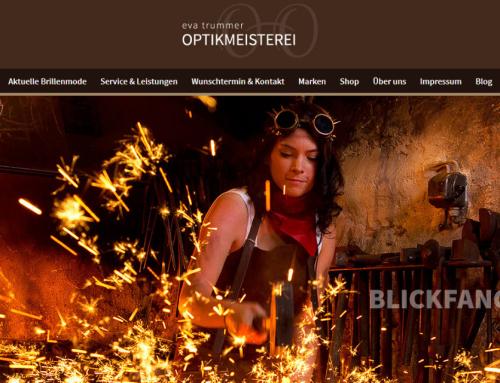 www.optikmeisterei.de zur Handwerkerseite des Jahres 2015 gewählt