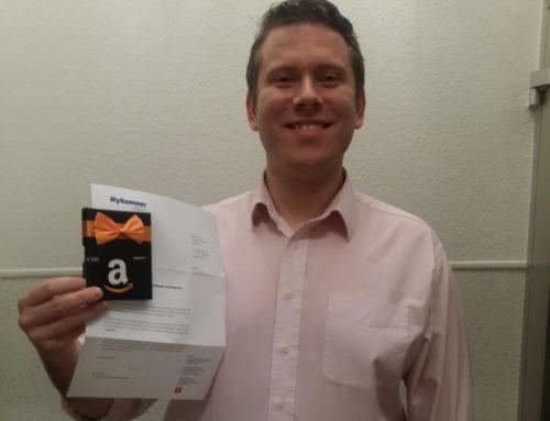 Publikumspreis: Amazon-Gutschein nach Dortmund verlost
